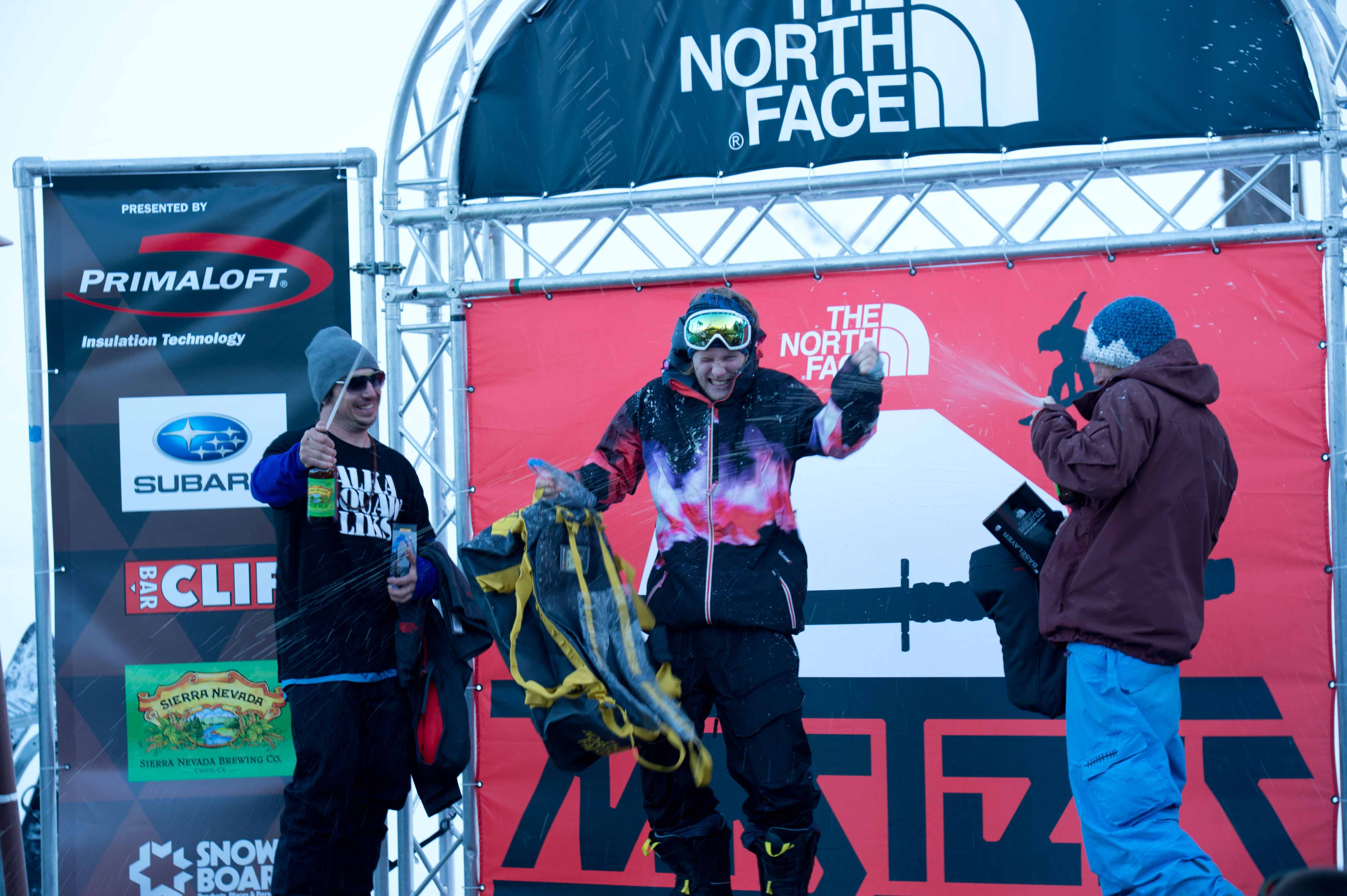 TNF Masters of snowboarding event at Alpine Meadows
