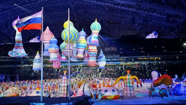 Russia sure knows how to throw a good party! #OpeningCeremony
