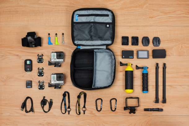 Now all of you GoPro accessories can have a real home.