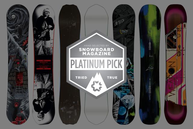 Platinum Picks: The Best Men's Snowboards of 2015