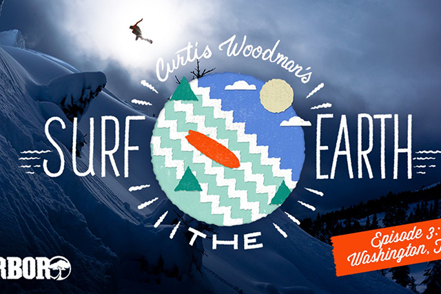 Curtis Woodman Surf the Earth