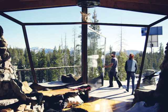 Mike Basich Snowboarder Tiny House